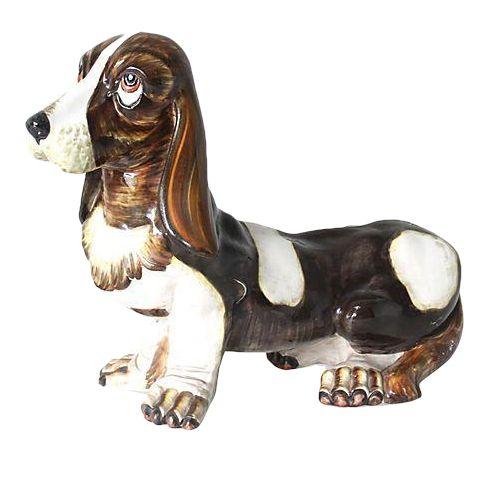Porcelain Bassett Hound - Image 1 of 2