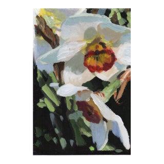 R. Robertson Jonquils Daffodils Original Painting