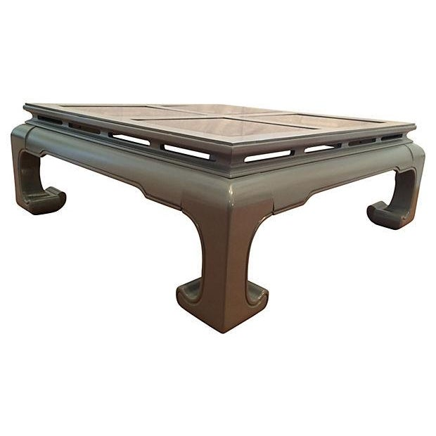 Asian Mont-Style Coffee Table - Image 2 of 3