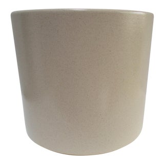 Gainey Ceramics Mid-Century Ivory Planter Pot