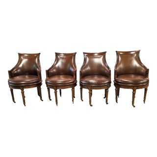 Drexel Heritage Game Chairs - Set of 4