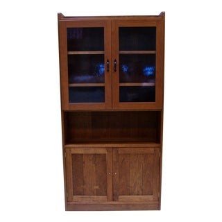 Mid-Century Modern Stickley Display Cabinet