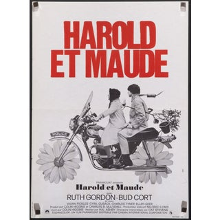 """Harold and Maude"" French Film Poster"