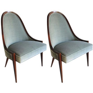 Harvey Probber Gondola Chairs - A Pair