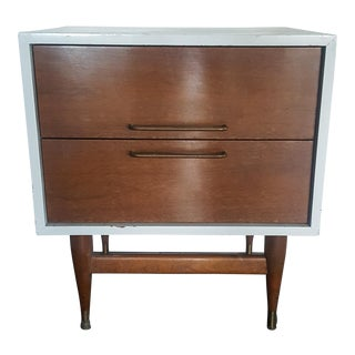 Jens Risom Attributed Mid-Century Nightstand