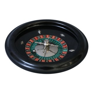 Vintage French Bakelite Roulette Wheel Game