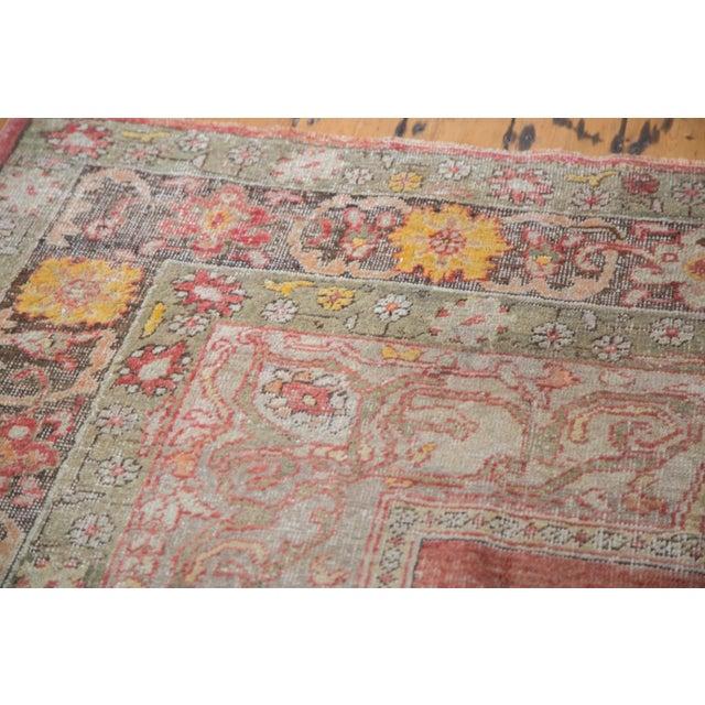 "Distressed Oushak Carpet - 7'6"" X 12'6"" - Image 6 of 10"