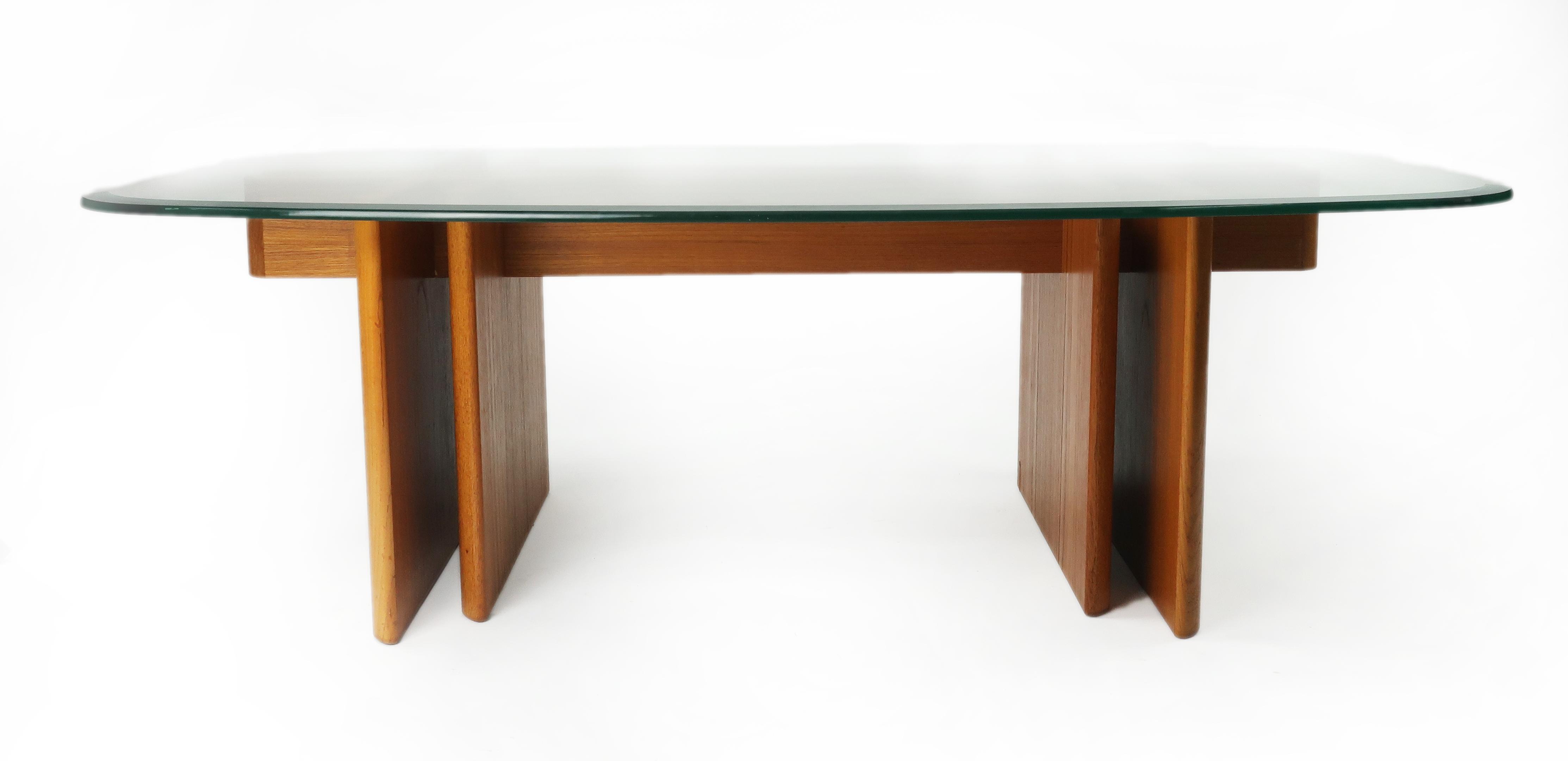Gustav Gaarde For Trakanten Danish Modern Teak Coffee Table   Image 2 Of 10