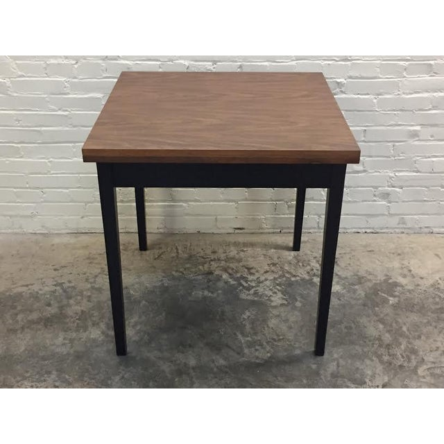 Mid-Century Modern Folding Top Dining/Card Table - Image 5 of 7