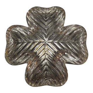 Nachtmann Bleikristall Crystal Four Leaf Clover