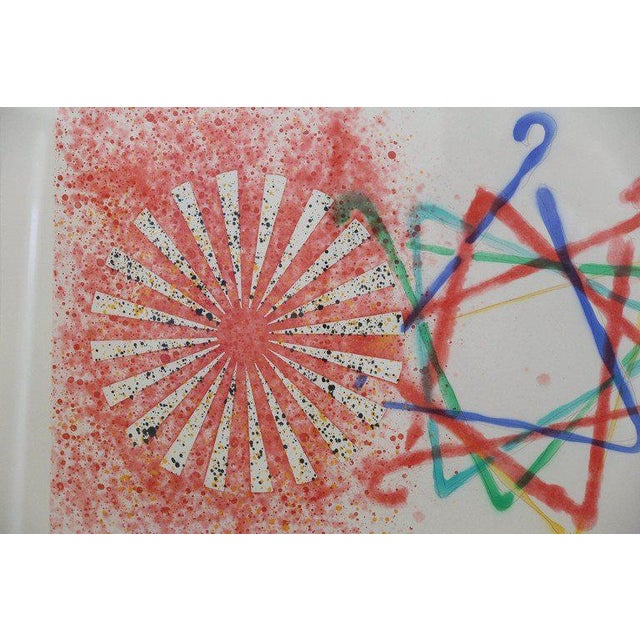 James Rosenquist, Number Wheel Dinner Triangle, 1978 - Image 6 of 6