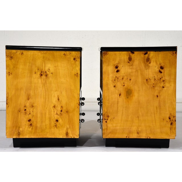 Pair of Mid-Century Modern Nightstands or Side Tables - Image 6 of 10