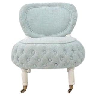 Victorian-Style Boudoir Chair
