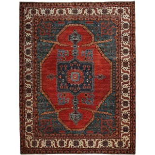 """Ziegler Hand Knotted Area Rug - 9'1"""" X 11'10"""""""