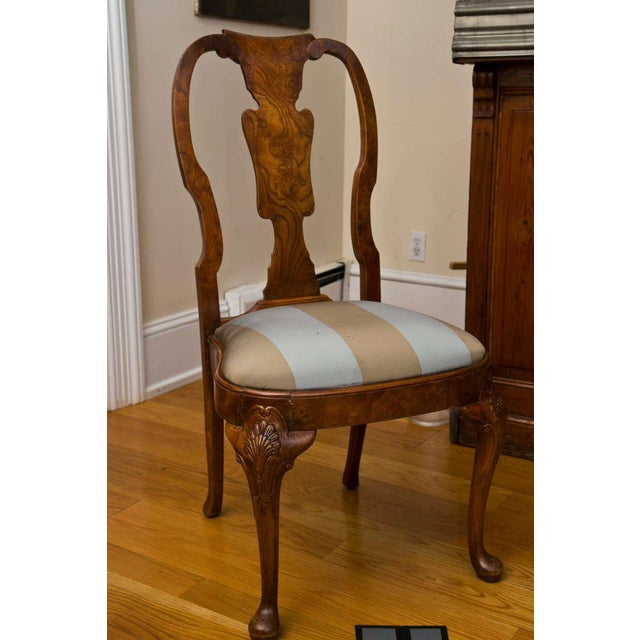 Image of Antique Queen Anne Style Side Chair