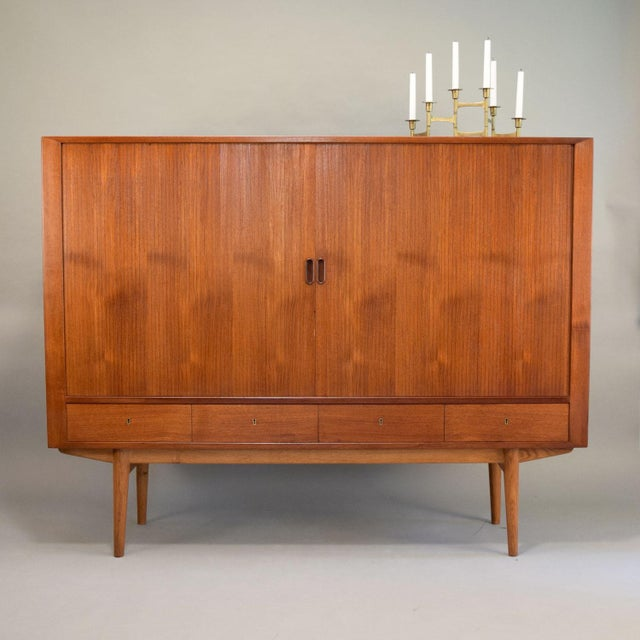Arne Vodder for Sibast Tambour Door Highboard - Image 3 of 11