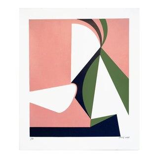 """Abstraction #2"" Silkscreen on Paper"