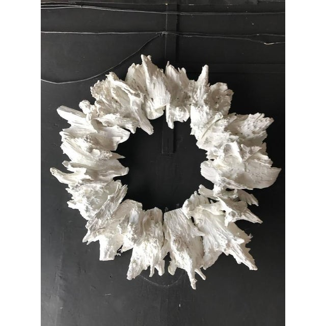White Drift Wood Crown or Frame - Image 3 of 5