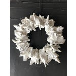 Image of White Drift Wood Crown or Frame