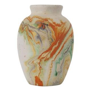 Nemadji Orange Vase