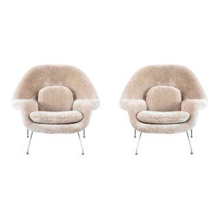 Set of Eero Saarinen Womb Chairs