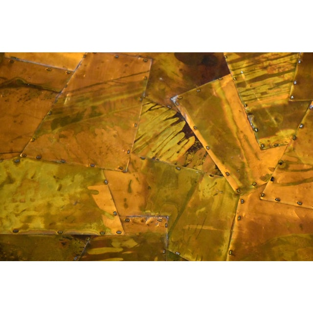 Lafer Brazilian Rosewood and Copper Coffee Table - Image 8 of 11