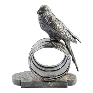 Figural Parakeet Napkin Ring