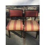 Image of Mid-Century Modern Side Chairs - A Pair