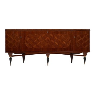 Vintage French Modernist Rosewood Buffet