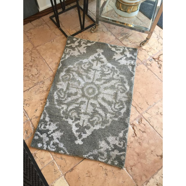Hand Knotted Wool Rug - 2' x 3' - Image 4 of 4