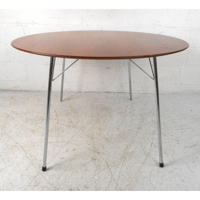 Mid-century Modern Teak Dining Table by Arne Jacobsen for Fritz Hansen - Image 7 of 7