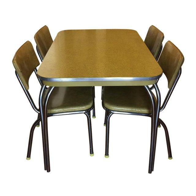 Mid-Century Modern Dinette Set - Image 1 of 4