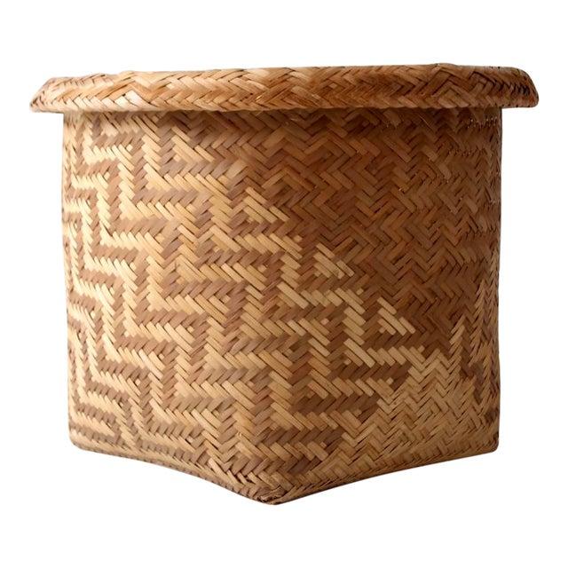Vintage Indonesian Basket - Image 1 of 9