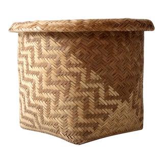 Vintage Indonesian Basket