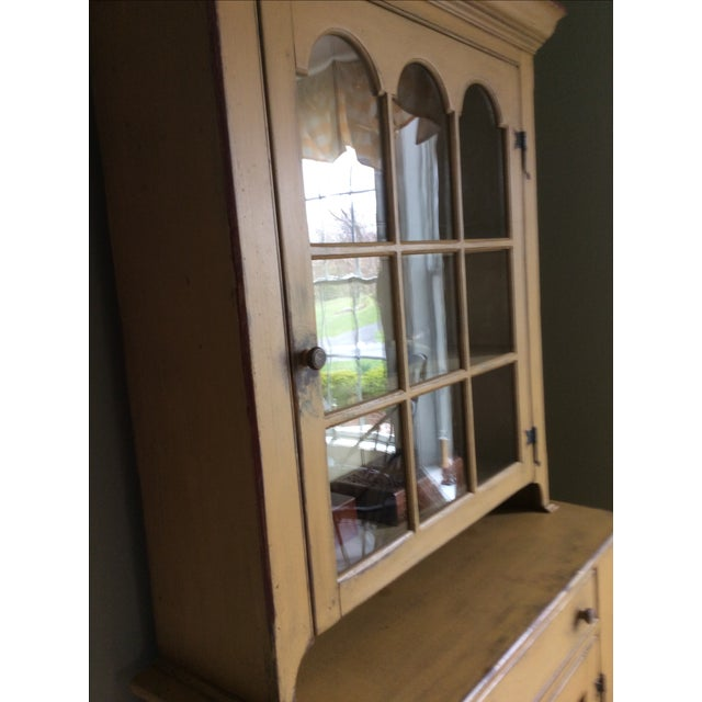 Reproduction Chester County Arched Door Cupboard - Image 9 of 9