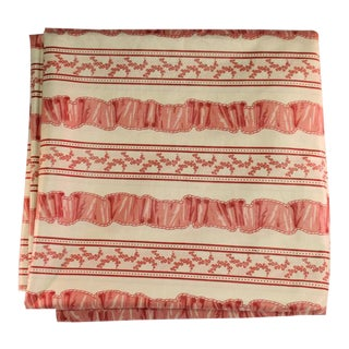 Pink Floral Patterned Fabric