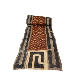 Lg Kuba Kasai Appliqués Raffia Textile