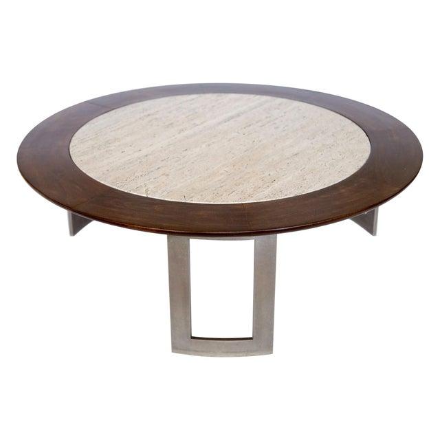 Vintage Travertine Coffee Table - Image 8 of 8
