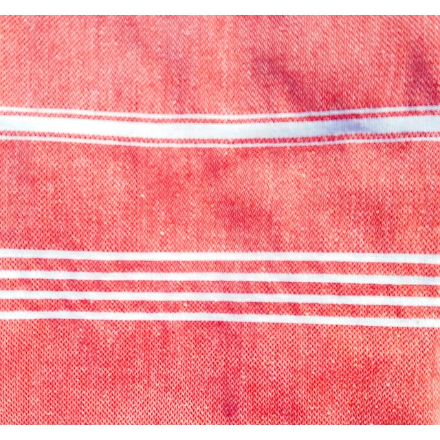 Strawberry Fisherman Striped Towalla Towel - Image 3 of 7
