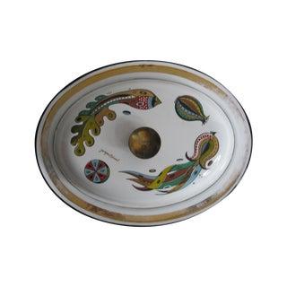 Georges Briard Lidded Dish