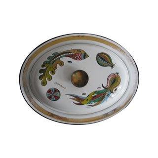 Georges Briard Lidded Dish