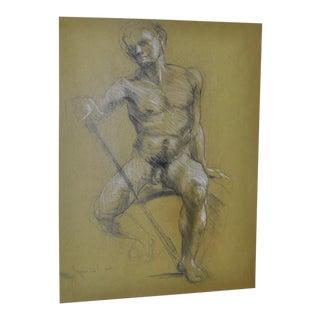 Original Nude Sketch by Trevor Southey