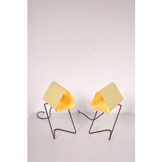 Set of 2 Table/Bed Lamps by Louis Kalff for Philips Netherlands, circa 1950
