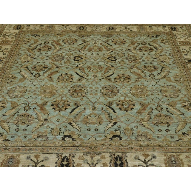 "Hand Knotted Pakistan Rug - 6'6"" X 7'"