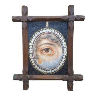 Lovers Eye Painting