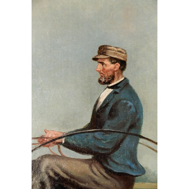James Hill -19th Century Famous Horse Racing Oil Painting - Image 6 of 10