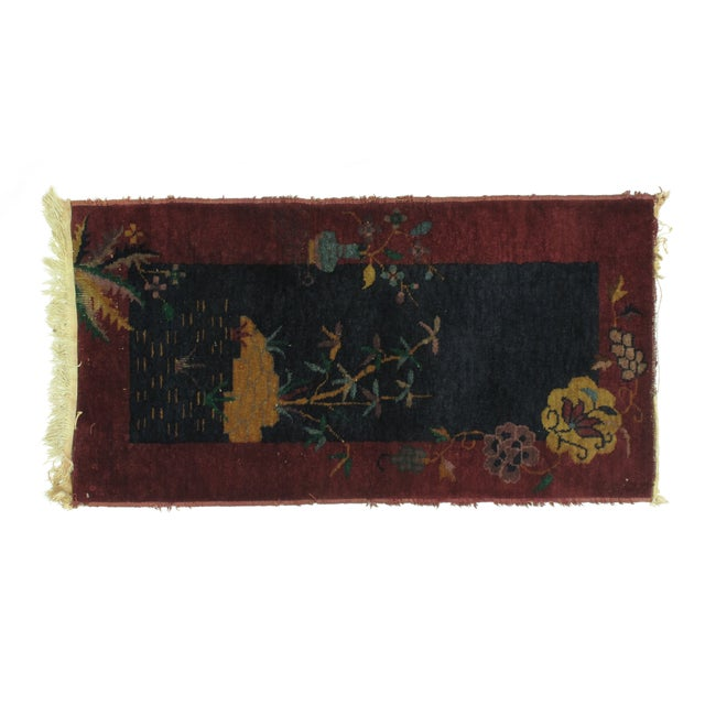 Leon Banilivi Art Deco Chinese Rug - 2′ × 3′10″ - Image 1 of 4