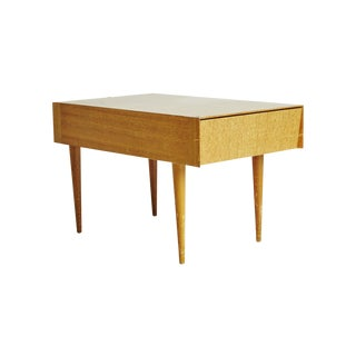 Paul Laszlo Brown Salt Light Wood End Table