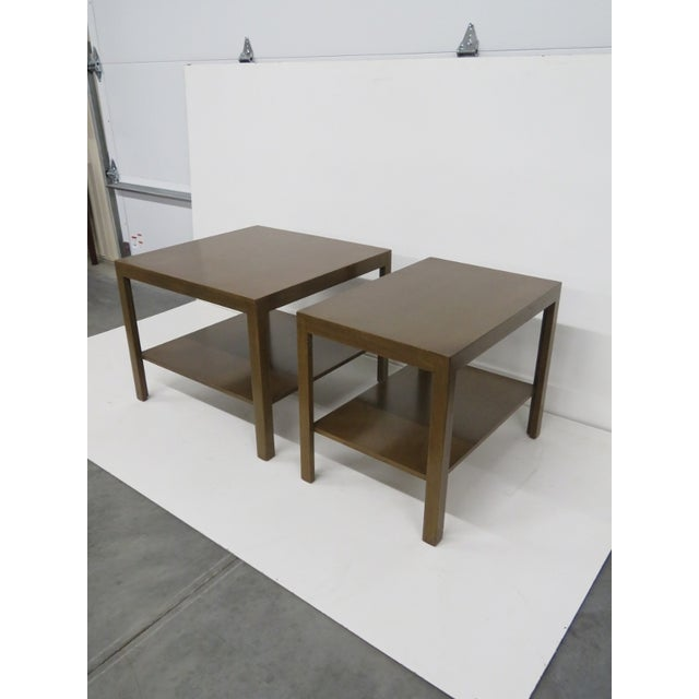 Edward Wormley for Dunbar Tables - A Pair - Image 2 of 5