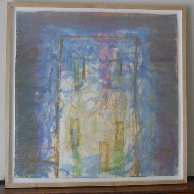 1998 Christopher Le Brun Untitled Abstract Monotype - Image 2 of 7